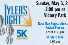 4th Annual Tylers Light 5K Run/Walk (2015)